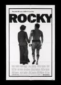 ROCKY (1977) - US One-Sheet (Style A), 1977