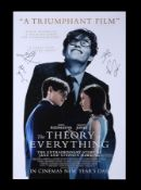 THE THEORY OF EVERYTHING (2014) - US/International One-Sheet, 2014, Autographed by Eddie Redmayne, F