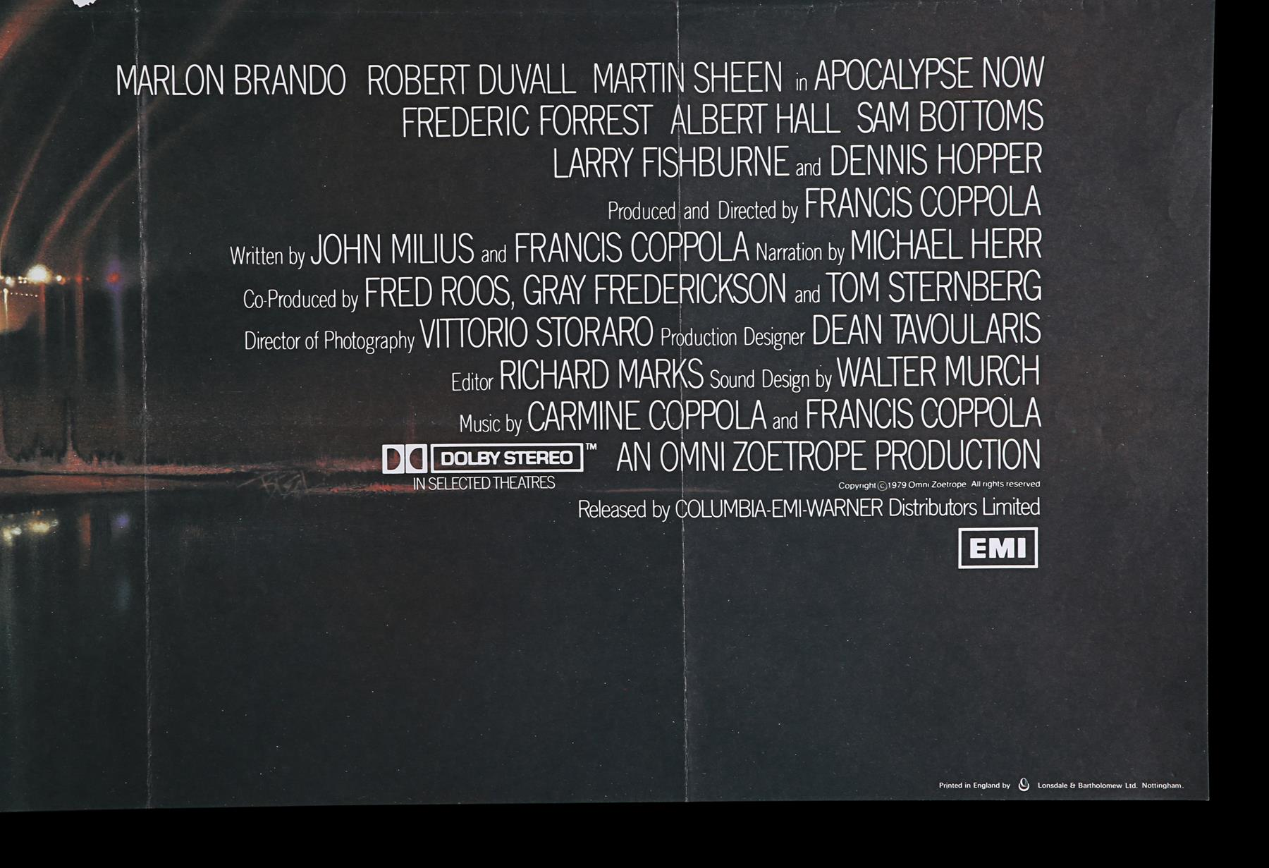 APOCALYPSE NOW (1979) - UK Quad, 1979 - Image 4 of 7
