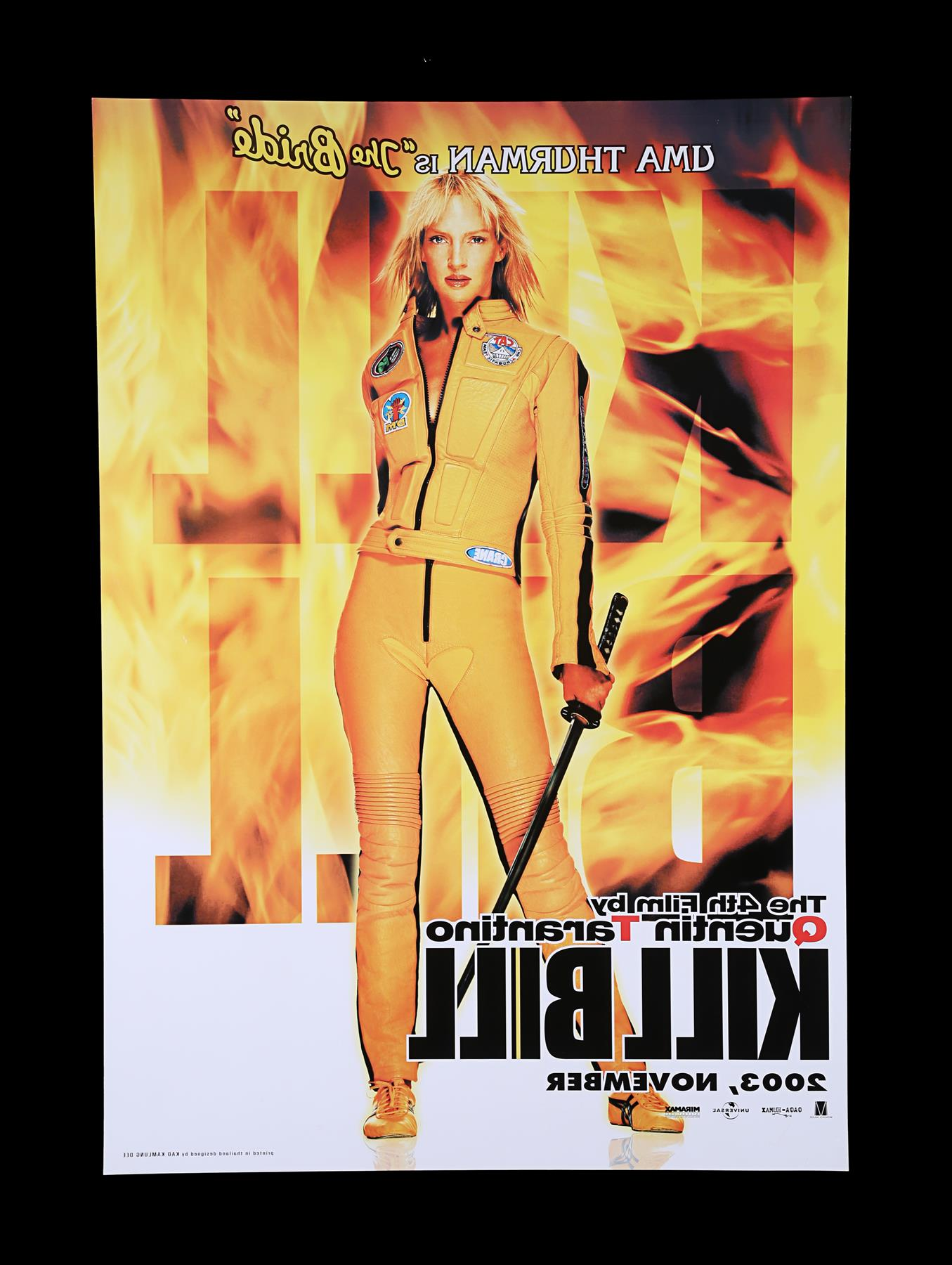 KILL BILL (2003) - US One-Sheet and Thai One-Sheet, 2003 - Image 6 of 10