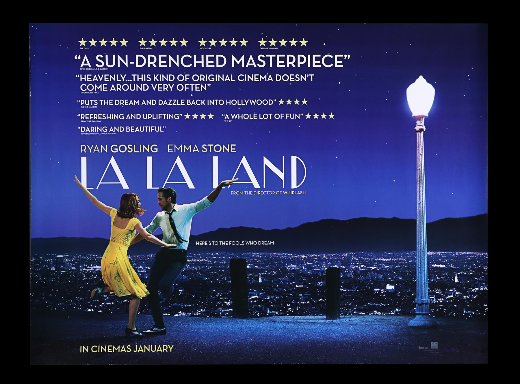 LA LA LAND (2016) - Two UK Quads and One-Sheet, 2016 - Image 2 of 7
