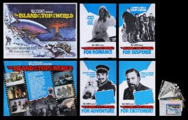 ISLAND AT THE TOP OF THE WORLD (1974) - Two UK Quads, Four Double Crowns and Press Pack, 1974