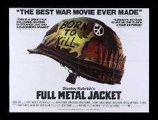 FULL METAL JACKET (1987) - UK Quad, 1987