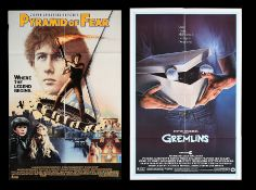 GREMLINS (1984), PYRAMID OF FEAR (1985) - Two US One-Sheets, 1984, 1985