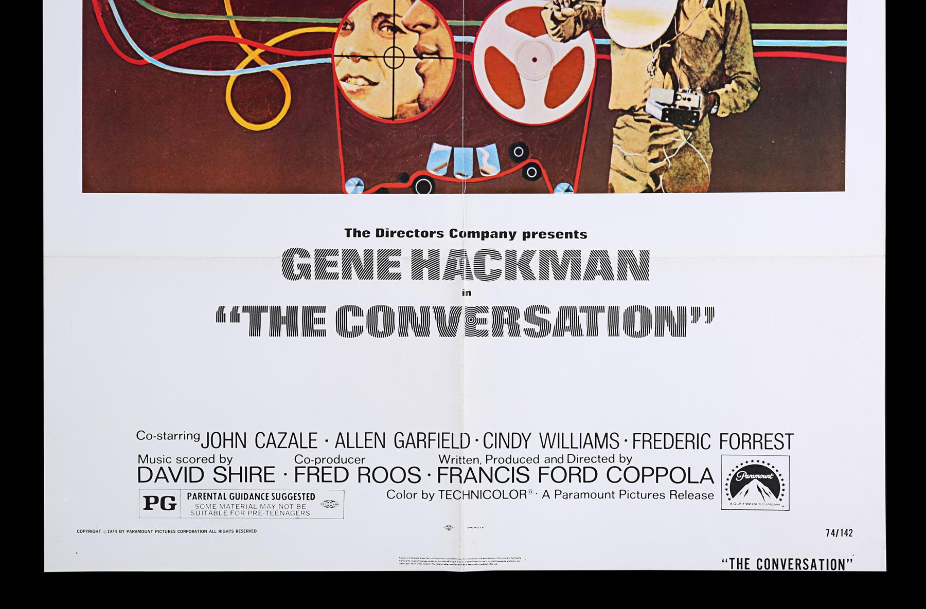 FRENCH CONNECTION (1971), CONVERSATION (1974) - UK Double Crown and US One-Sheet, 1971, 1974 - Image 4 of 8