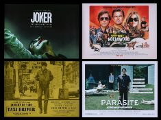 TAXI-DRIVER (1976), JOKER (2019), ONCE UPON A TIME IN HOLLYWOOD (2019), PARASITE (2019) - Four UK Qu