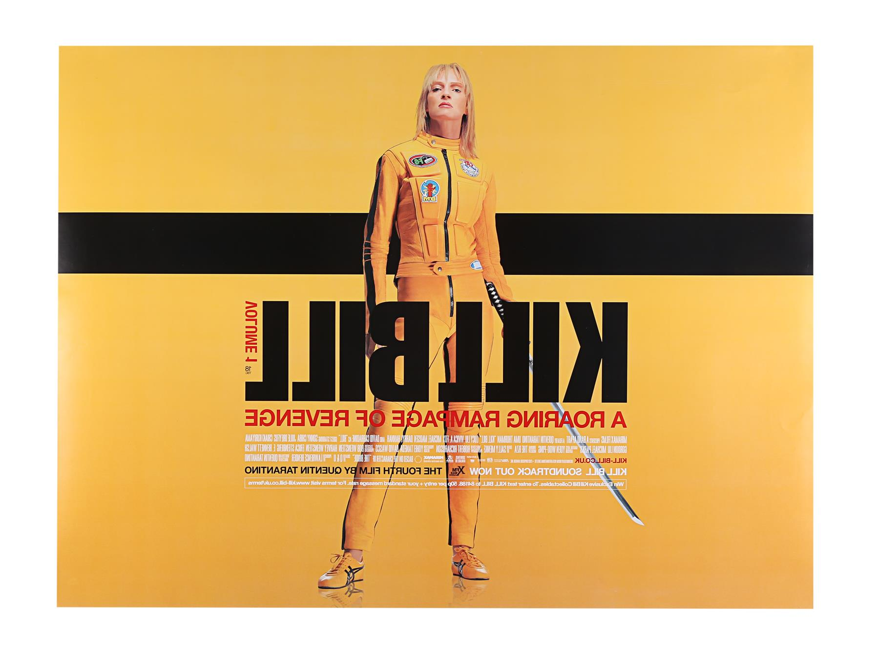 KILL BILL (2003), KILL BILL: VOLUME II (2004) - Two UK Quads, 2003 and 2004 - Image 9 of 9
