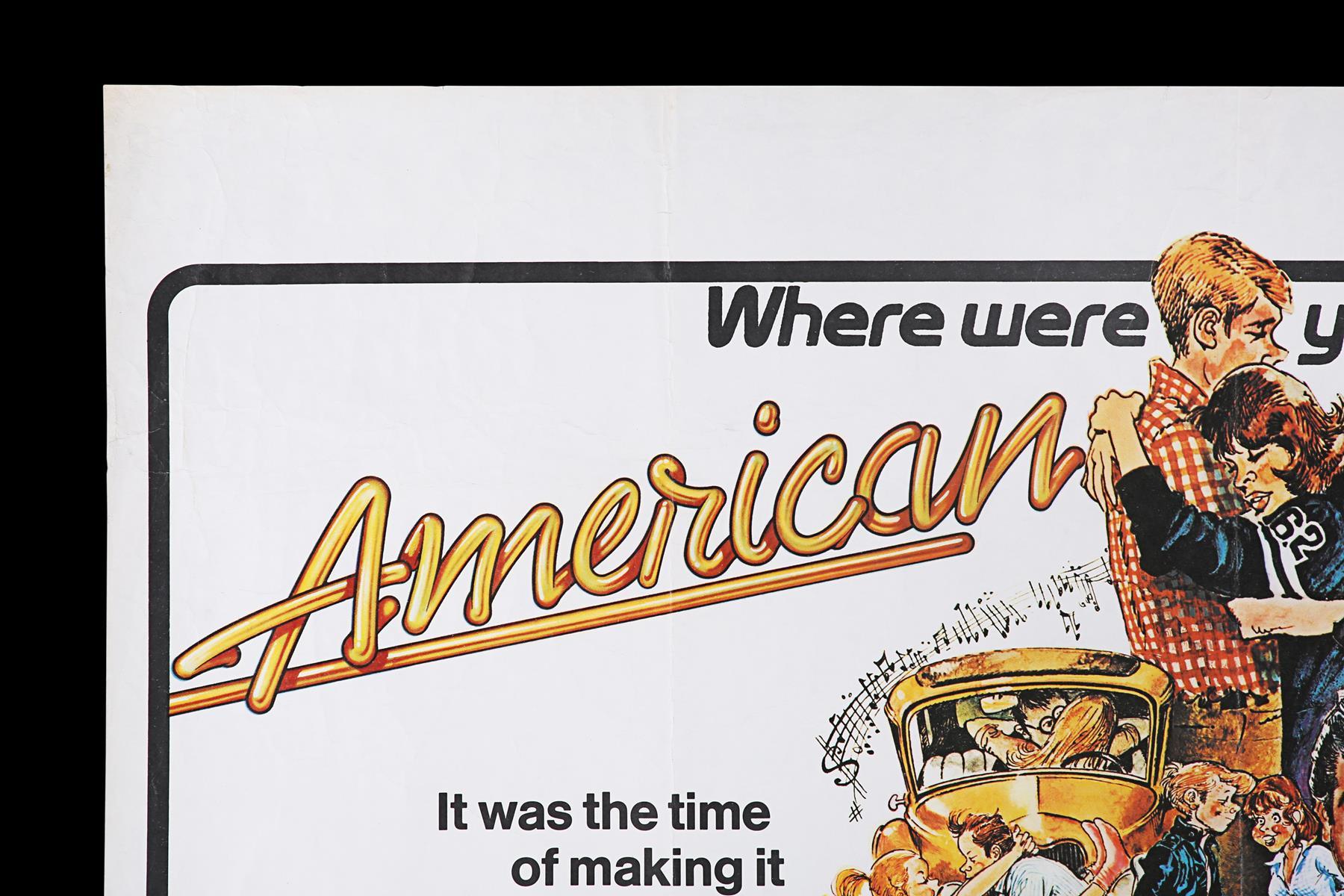 AMERICAN GRAFFITI (1973) - UK Quad, 1973 - Image 2 of 6