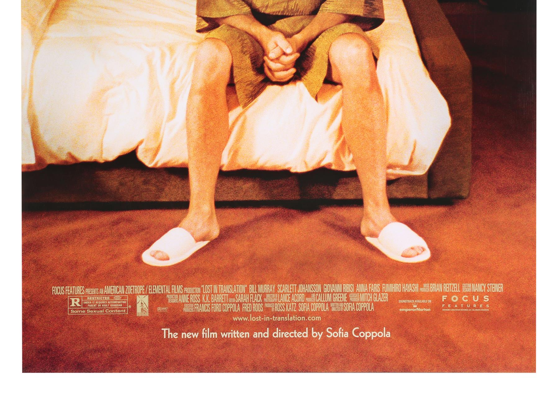 LOST IN TRANSLATION (2003) - Two US One-Sheets (Style A and B), 2003 - Image 7 of 7