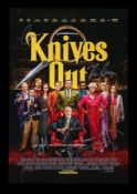 KNIVES OUT (2019) - Poster, 2019, Autographed by Daniel Craig, Chris Evans and Others