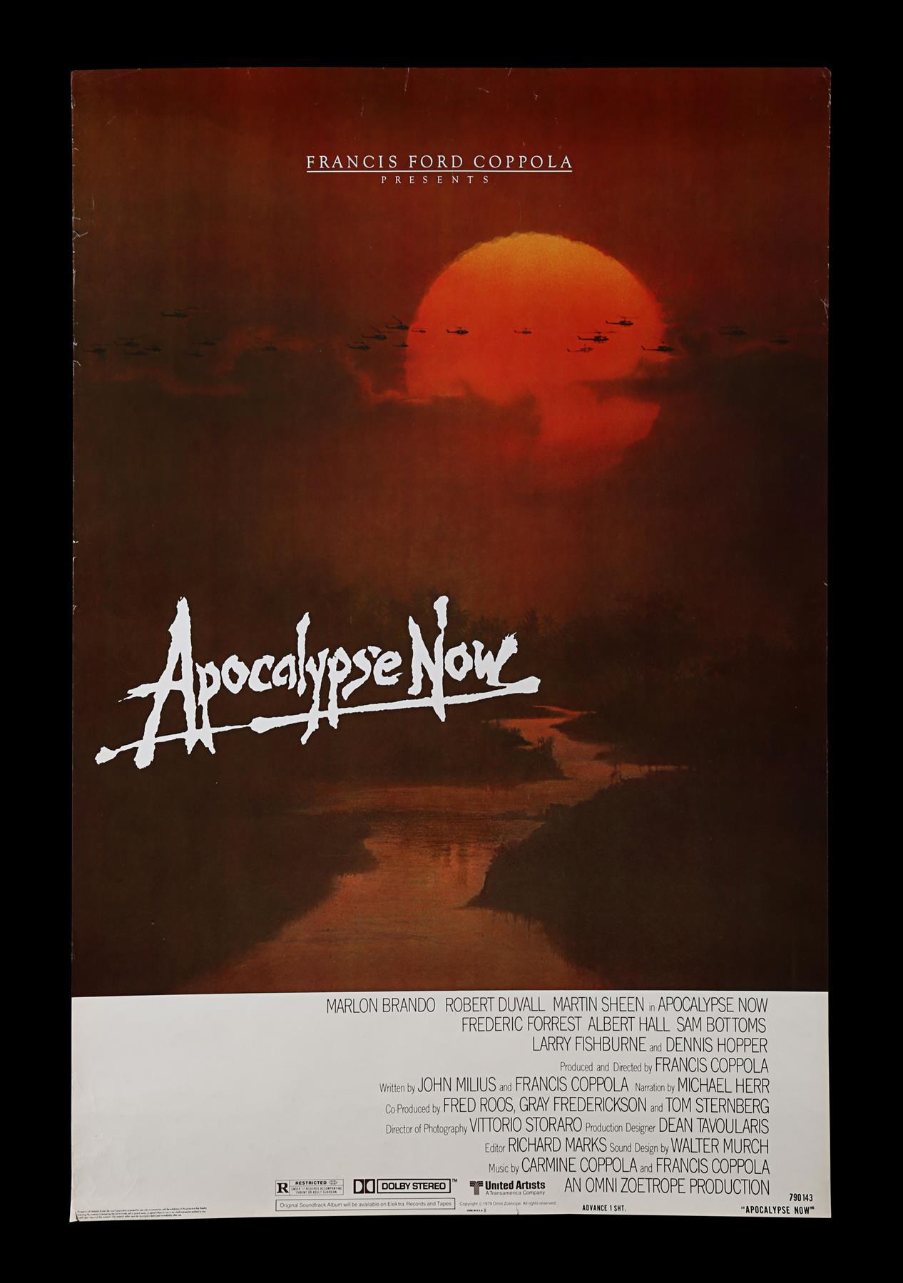 APOCALYPSE NOW (1979) - US One-Sheet, 1979
