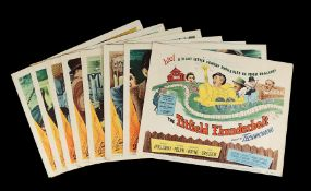 THE TITFIELD THUNDERBOLT (1953) - Eight US Lobby Cards, 1953