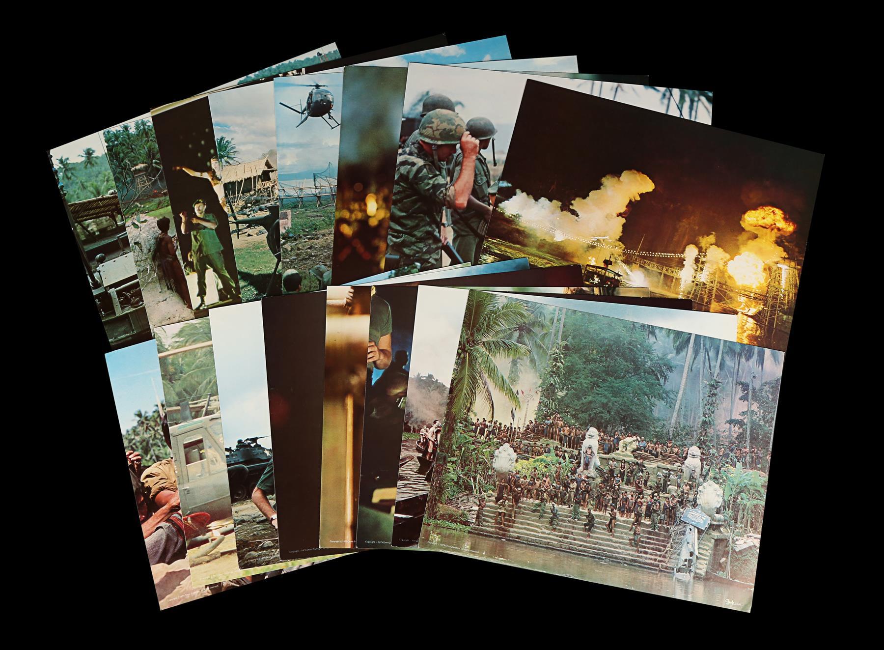 APOCALYPSE NOW (1979) - Sixteen Lobby Cards, 1979