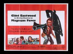 MAGNUM FORCE (1973) - UK Quad, 1974