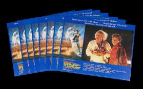 BACK TO THE FUTURE (1985) - Eight UK Lobby Cards, 1985