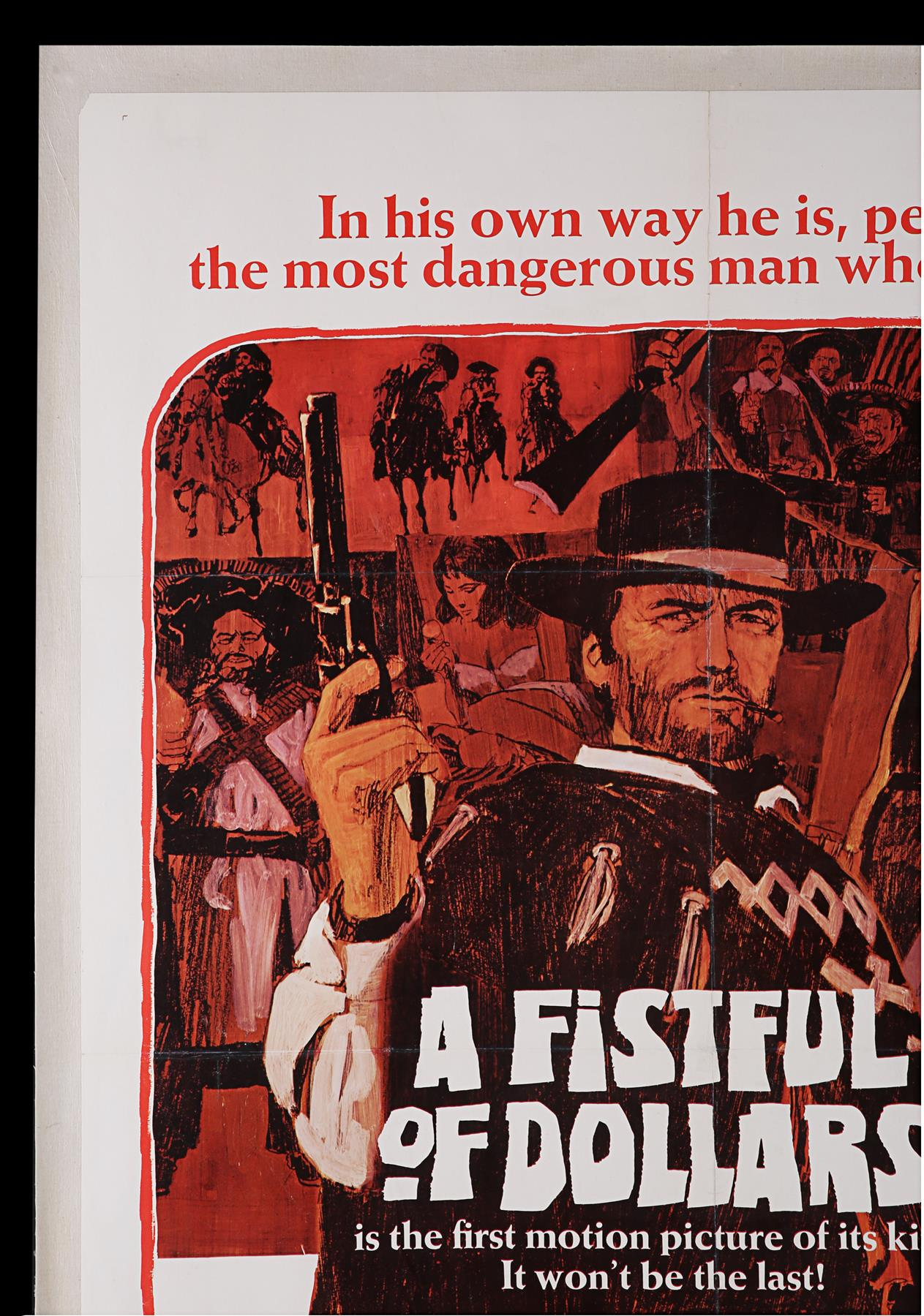 A FISTFUL OF DOLLARS (1967) - US One-Sheet, 1967 - Image 2 of 5