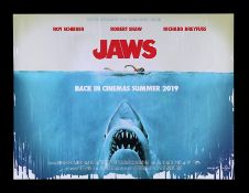 JAWS (1975) - UK Quad, 2019