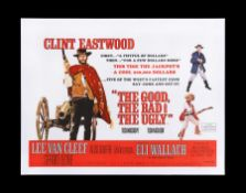 THE GOOD, THE BAD AND THE UGLY (1966) - UK Quad, 1968
