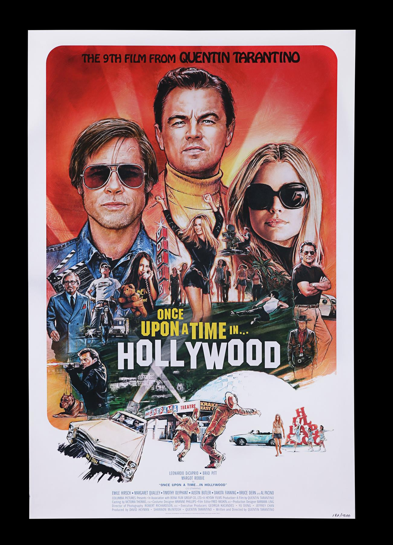 ONCE UPON A TIME IN HOLLYWOOD (2019) - Limited Edition Numbered Soundtrack Album and Posters, 2019 - Image 2 of 8
