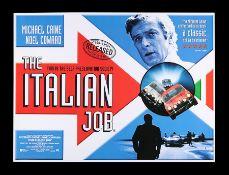 THE ITALIAN JOB (1969) - UK Quad, 1999