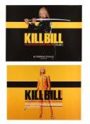 KILL BILL (2003), KILL BILL: VOLUME II (2004) - Two UK Quads, 2003 and 2004