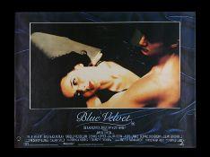 BLUE VELVET (1986) - UK Quad, 1986