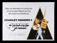 A CLOCKWORK ORANGE (1971) - UK Quad, 1971