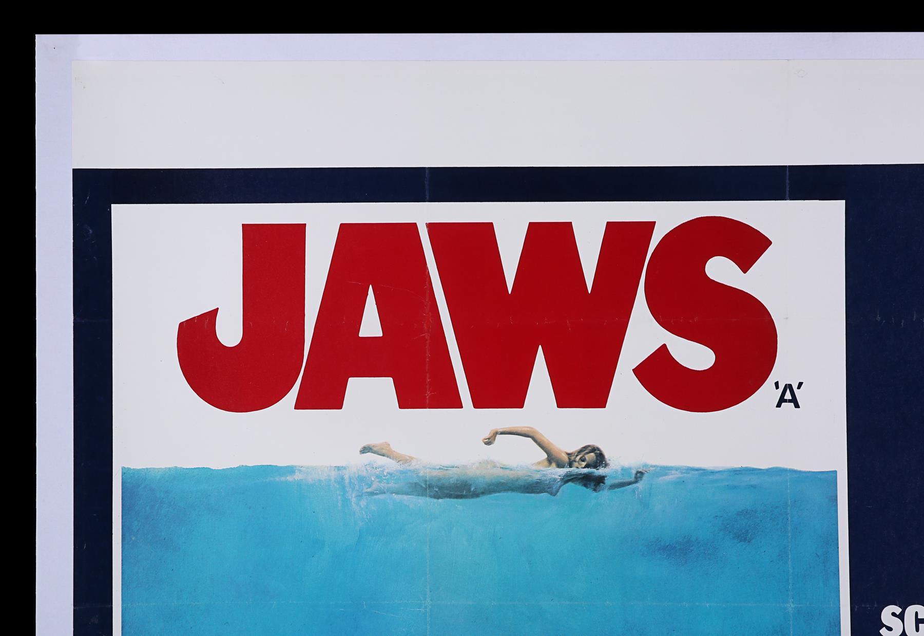 JAWS (1975) - UK Quad, 1975 - Image 2 of 5