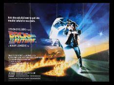 BACK TO THE FUTURE (1985) - UK Quad, 1985