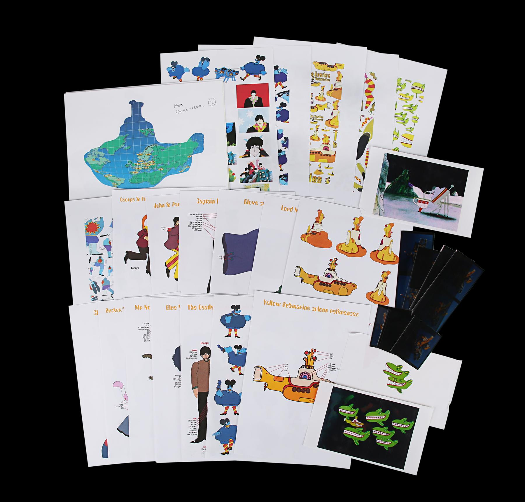 YELLOW SUBMARINE (1968) - Promotional and Marketing Items, 1999 - Image 8 of 9