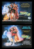 BACK TO THE FUTURE PART II (1989), BACK TO THE FUTURE PART III (1990) - Two UK Quads, 1989, 1990
