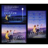 LA LA LAND (2016) - Two UK Quads and One-Sheet, 2016