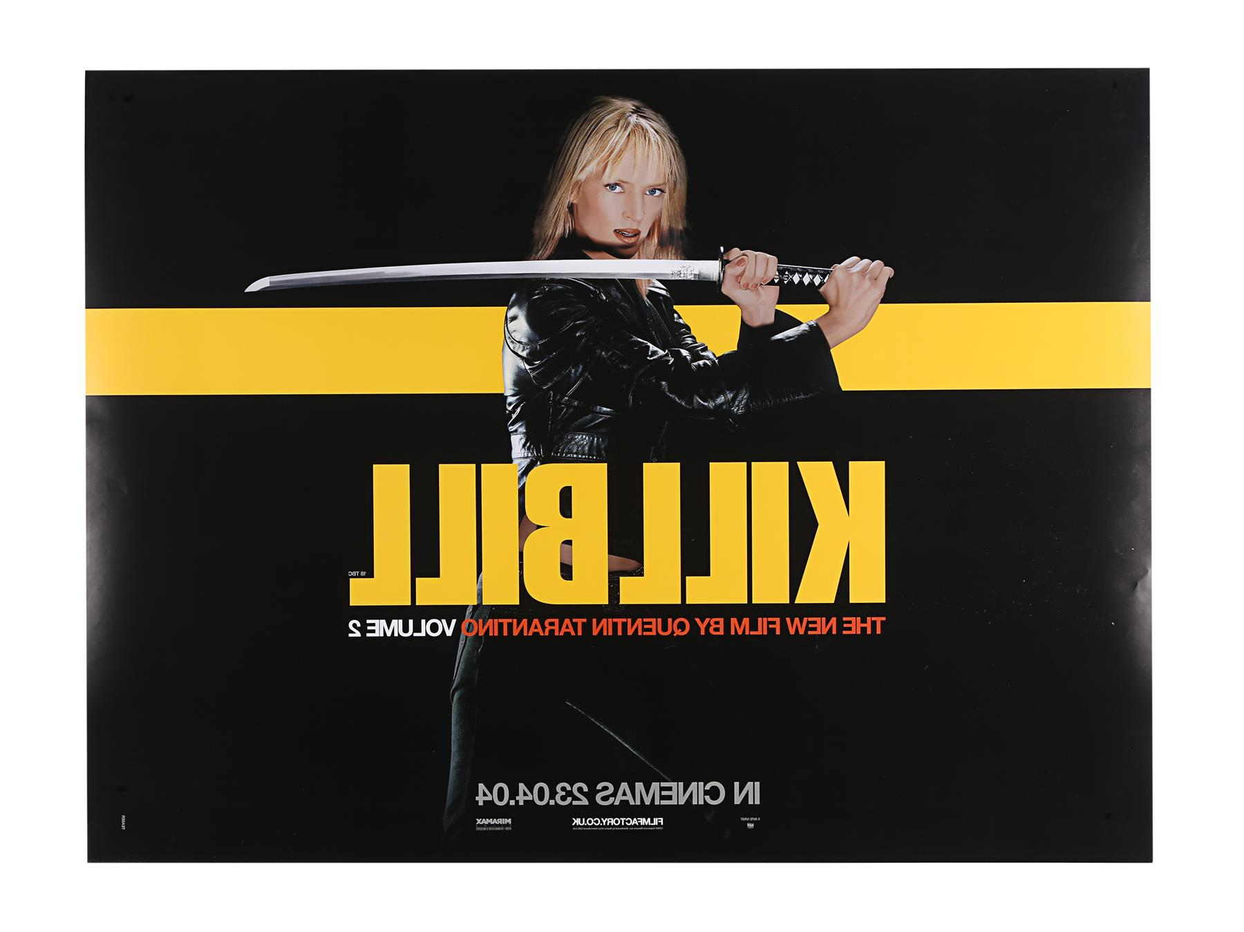 KILL BILL (2003), KILL BILL: VOLUME II (2004) - Two UK Quads, 2003 and 2004 - Image 5 of 9