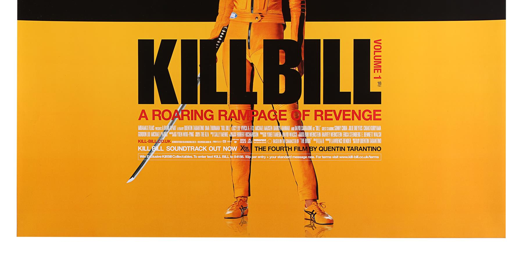 KILL BILL (2003), KILL BILL: VOLUME II (2004) - Two UK Quads, 2003 and 2004 - Image 8 of 9