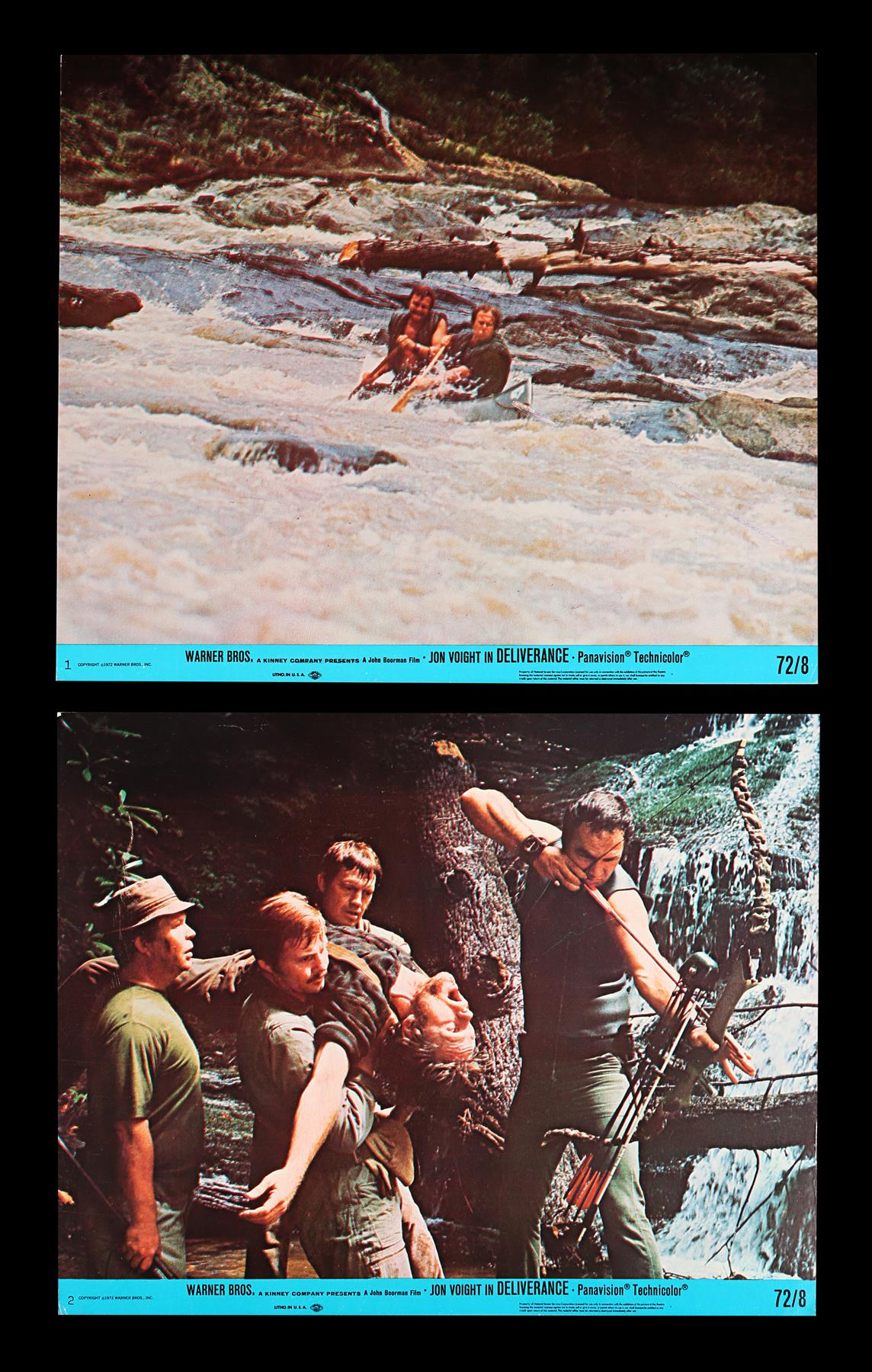 DELIVERANCE (1972), THE ENFORCER (1977) - Two Sets of US Front of House Lobby Cards, 1972, 1977 - Image 5 of 9
