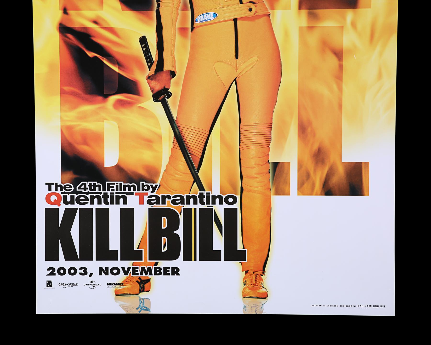 KILL BILL (2003) - US One-Sheet and Thai One-Sheet, 2003 - Image 5 of 10