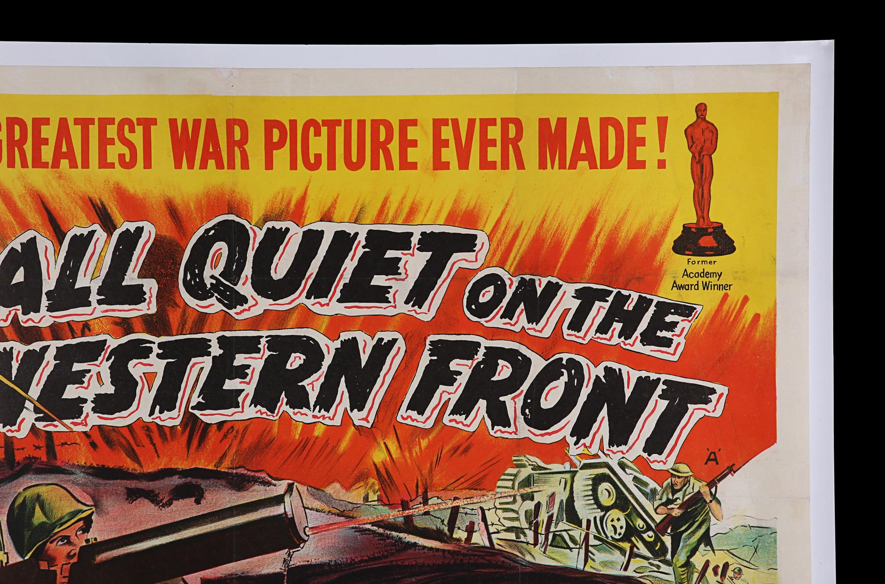 ALL QUIET ON THE WESTERN FRONT (1930) - UK Quad, 1950 - Image 3 of 6