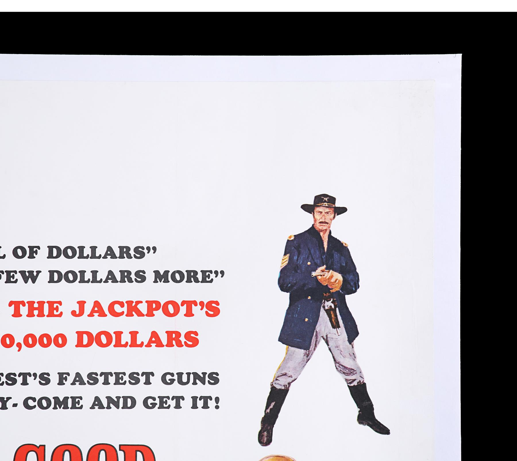 THE GOOD, THE BAD AND THE UGLY (1966) - UK Quad, 1968 - Image 3 of 7