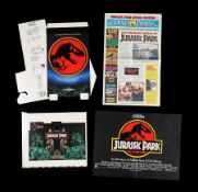 JURASSIC PARK (1993) - Promotional and In-Store Merchandise, 1993
