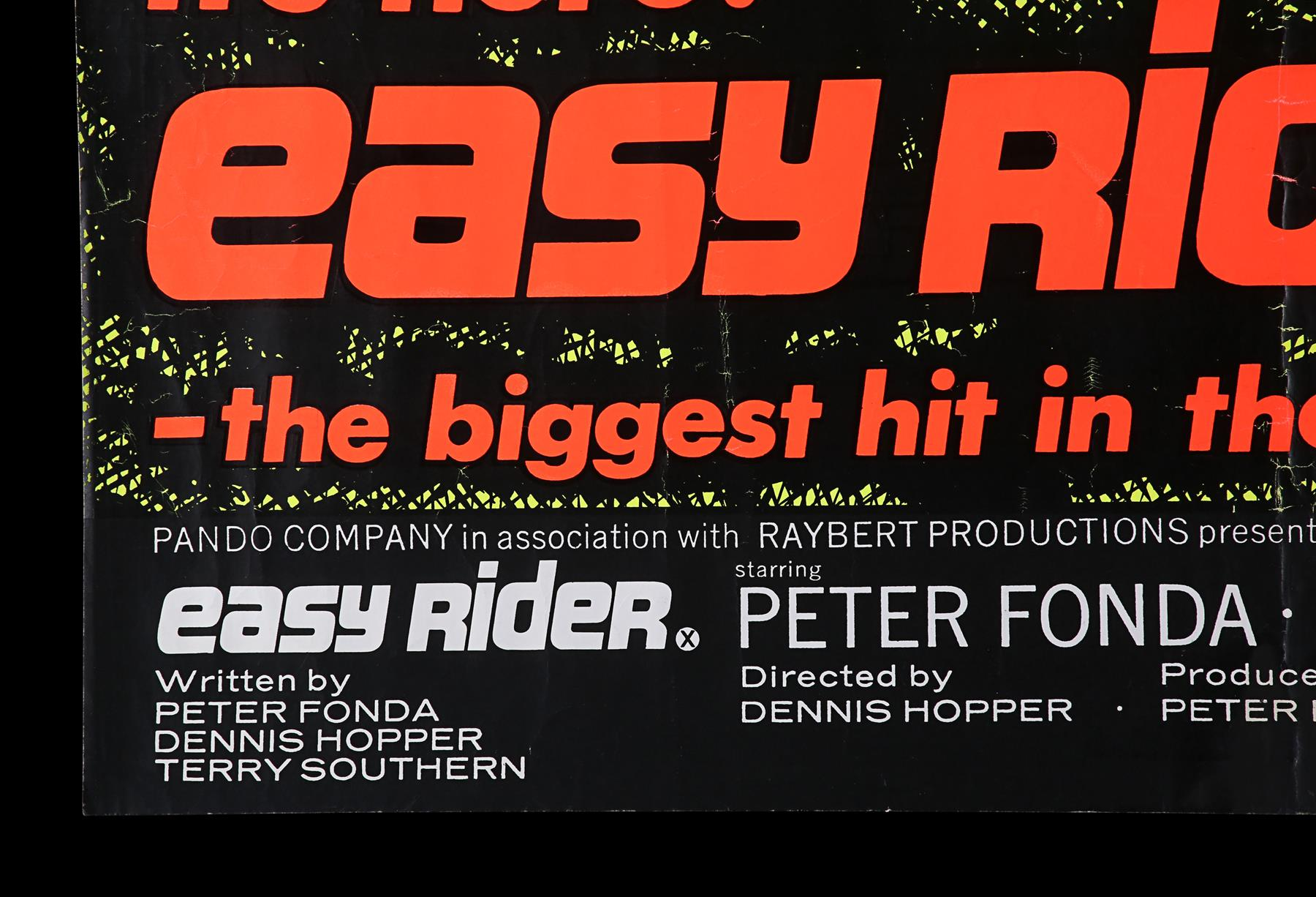 EASY RIDER (1969) - UK Quad, 1969 - Image 5 of 6