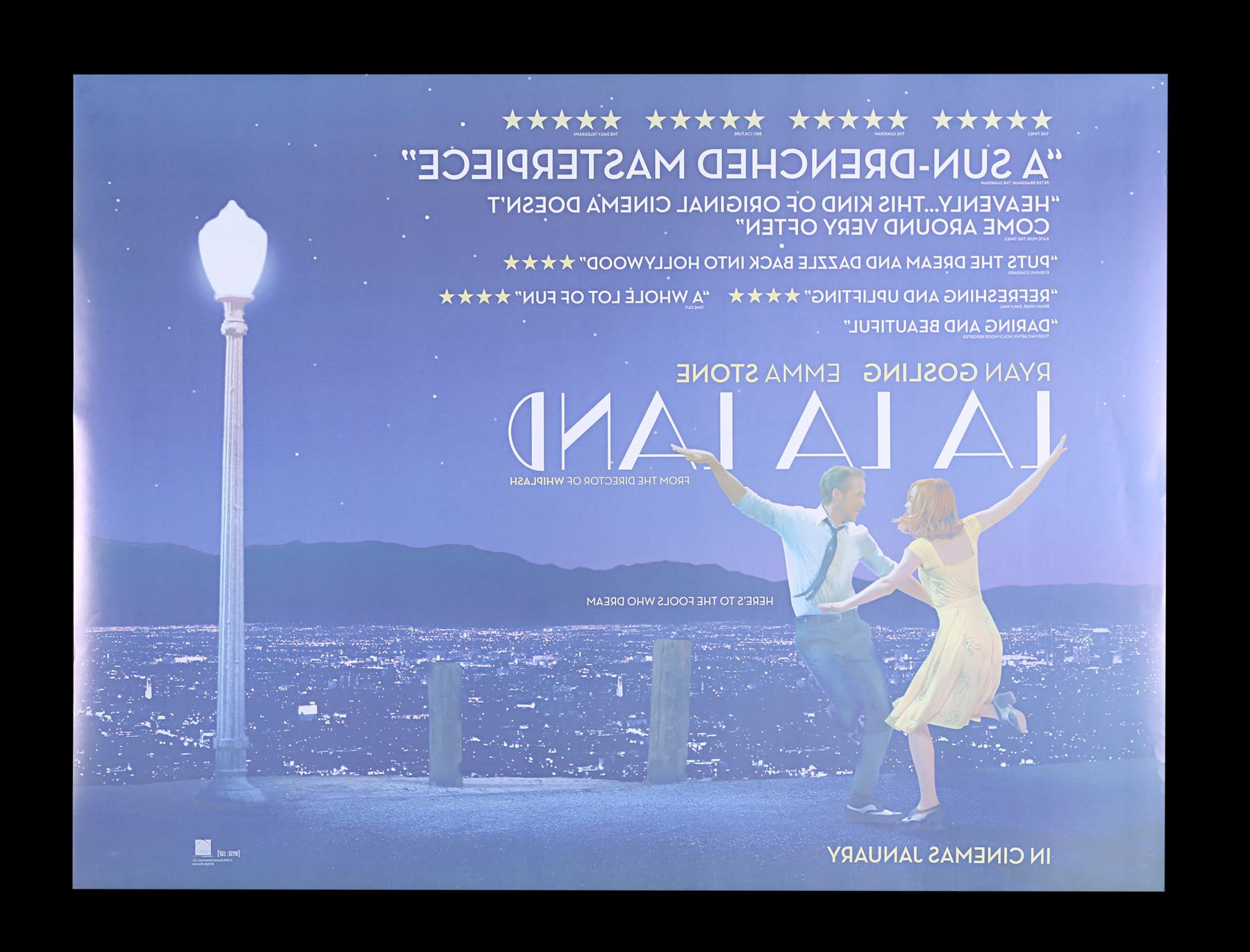 LA LA LAND (2016) - Two UK Quads and One-Sheet, 2016 - Image 3 of 7