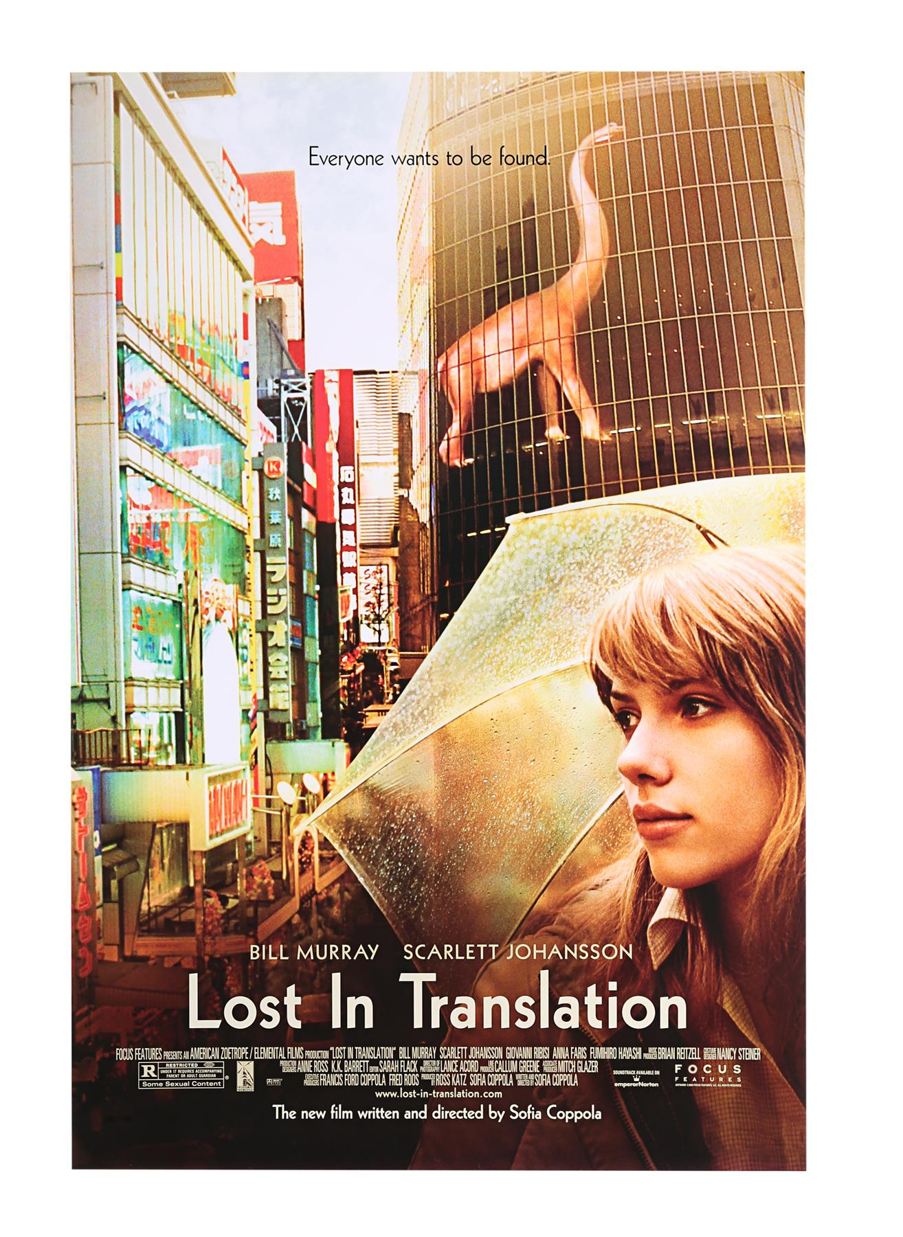 LOST IN TRANSLATION (2003) - Two US One-Sheets (Style A and B), 2003 - Image 2 of 7