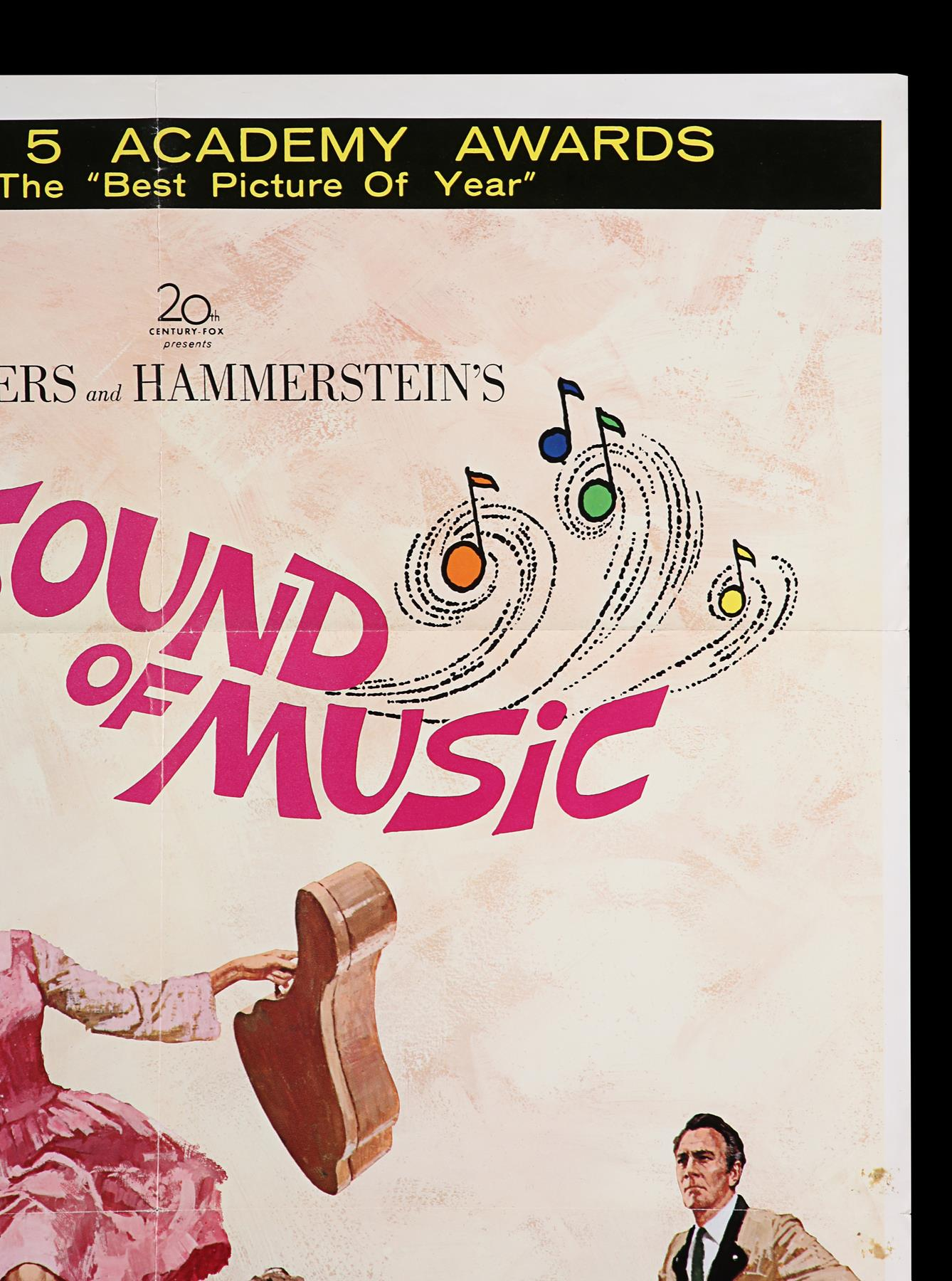 THE SOUND OF MUSIC (1965) - US One-Sheet, 1965 - Image 3 of 7