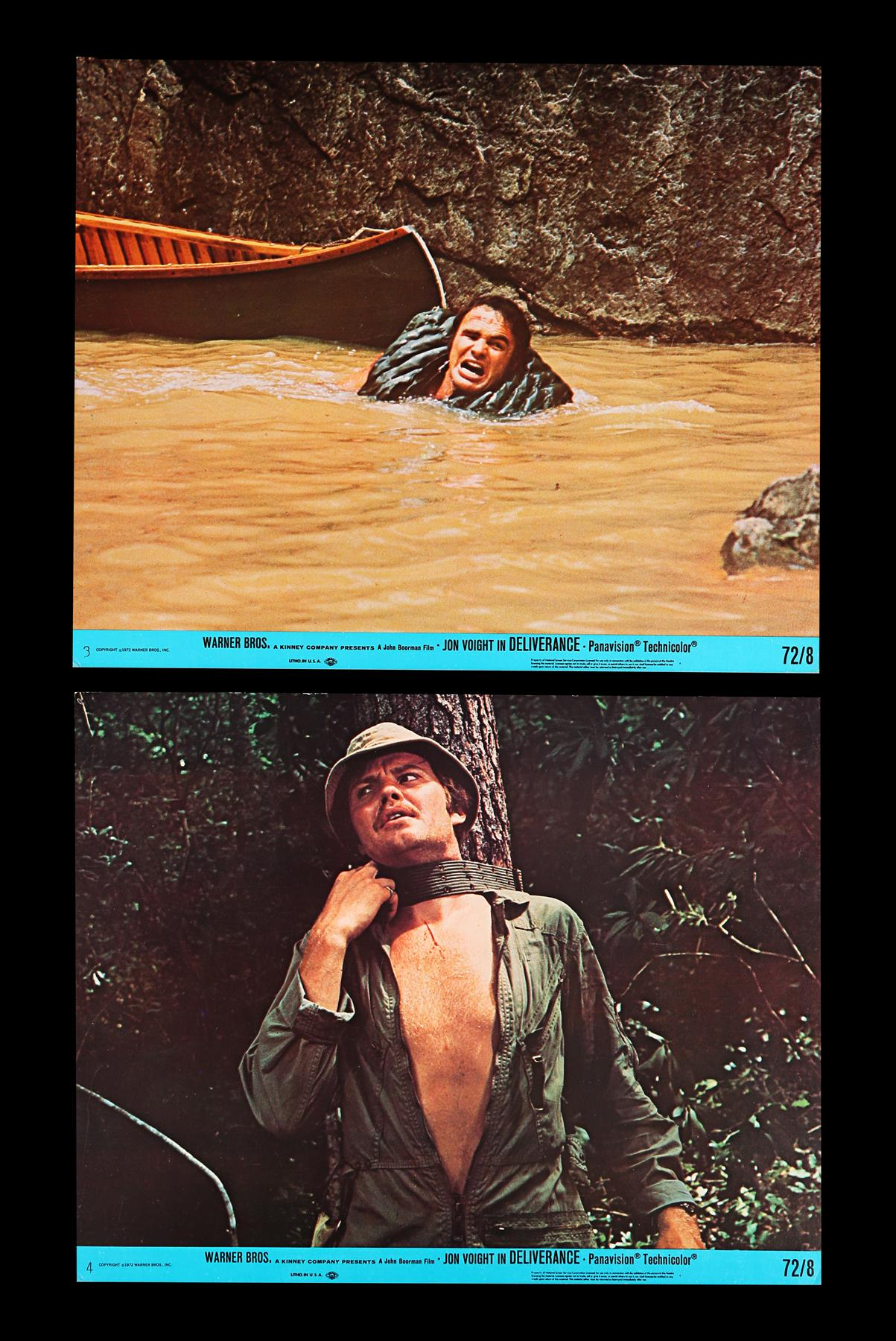 DELIVERANCE (1972), THE ENFORCER (1977) - Two Sets of US Front of House Lobby Cards, 1972, 1977 - Image 4 of 9
