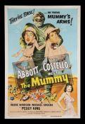 ABBOTT AND COSTELLO MEET THE MUMMY (1955) - US One-Sheet, 1955