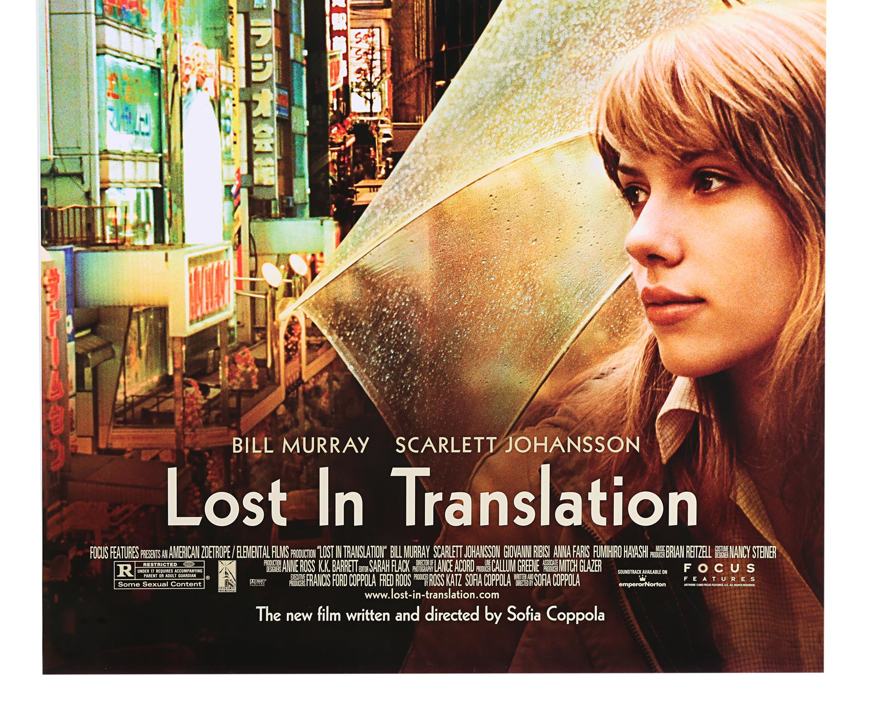 LOST IN TRANSLATION (2003) - Two US One-Sheets (Style A and B), 2003 - Image 4 of 7