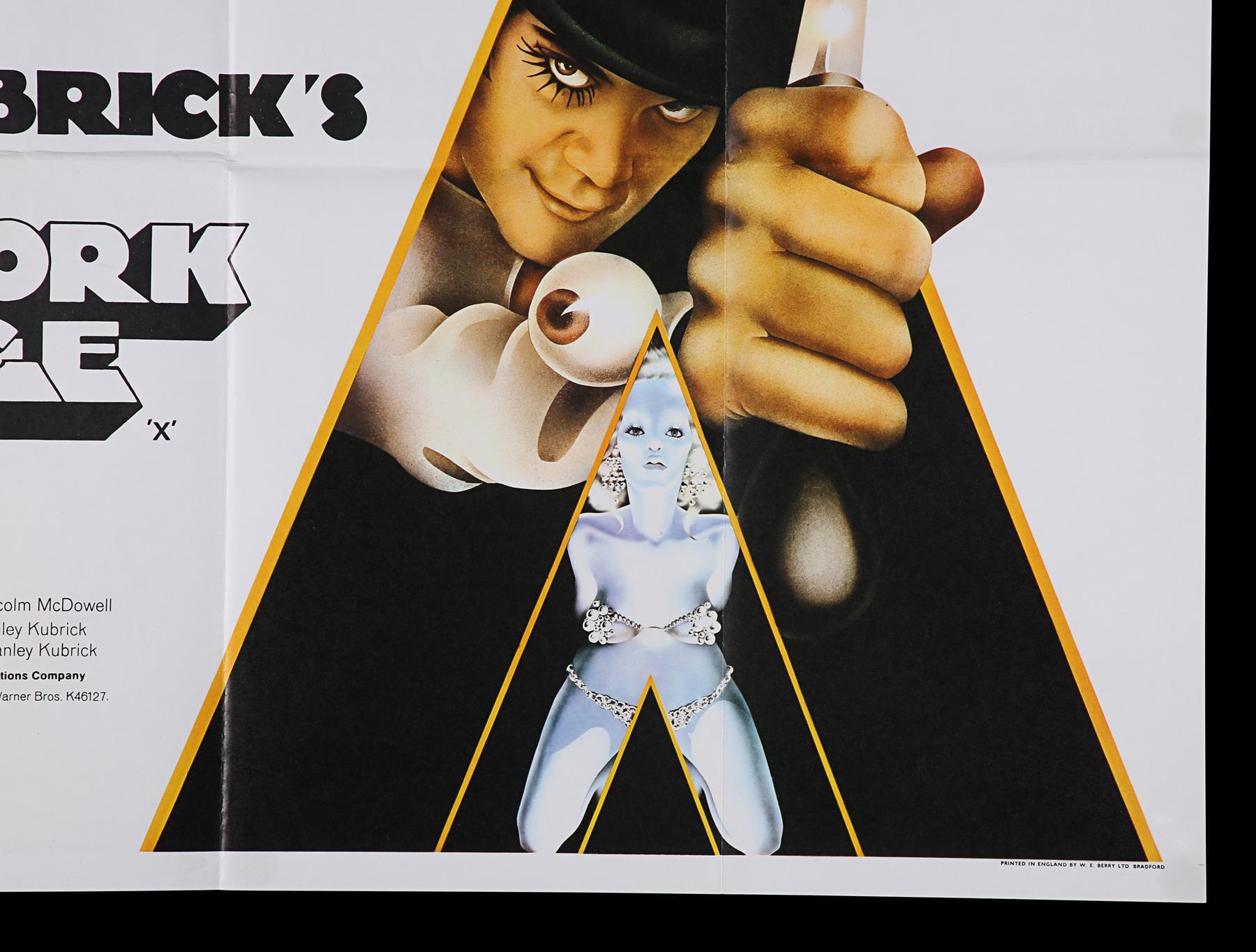 A CLOCKWORK ORANGE (1971) - UK Quad, 1971 - Image 4 of 6