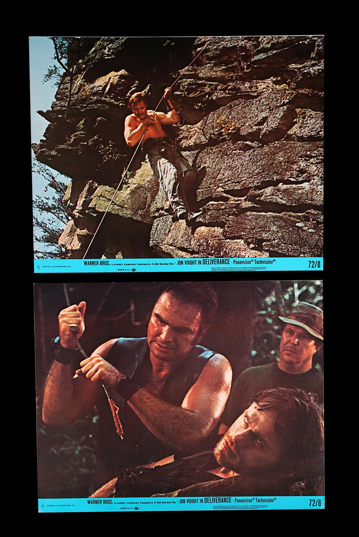 DELIVERANCE (1972), THE ENFORCER (1977) - Two Sets of US Front of House Lobby Cards, 1972, 1977 - Image 3 of 9