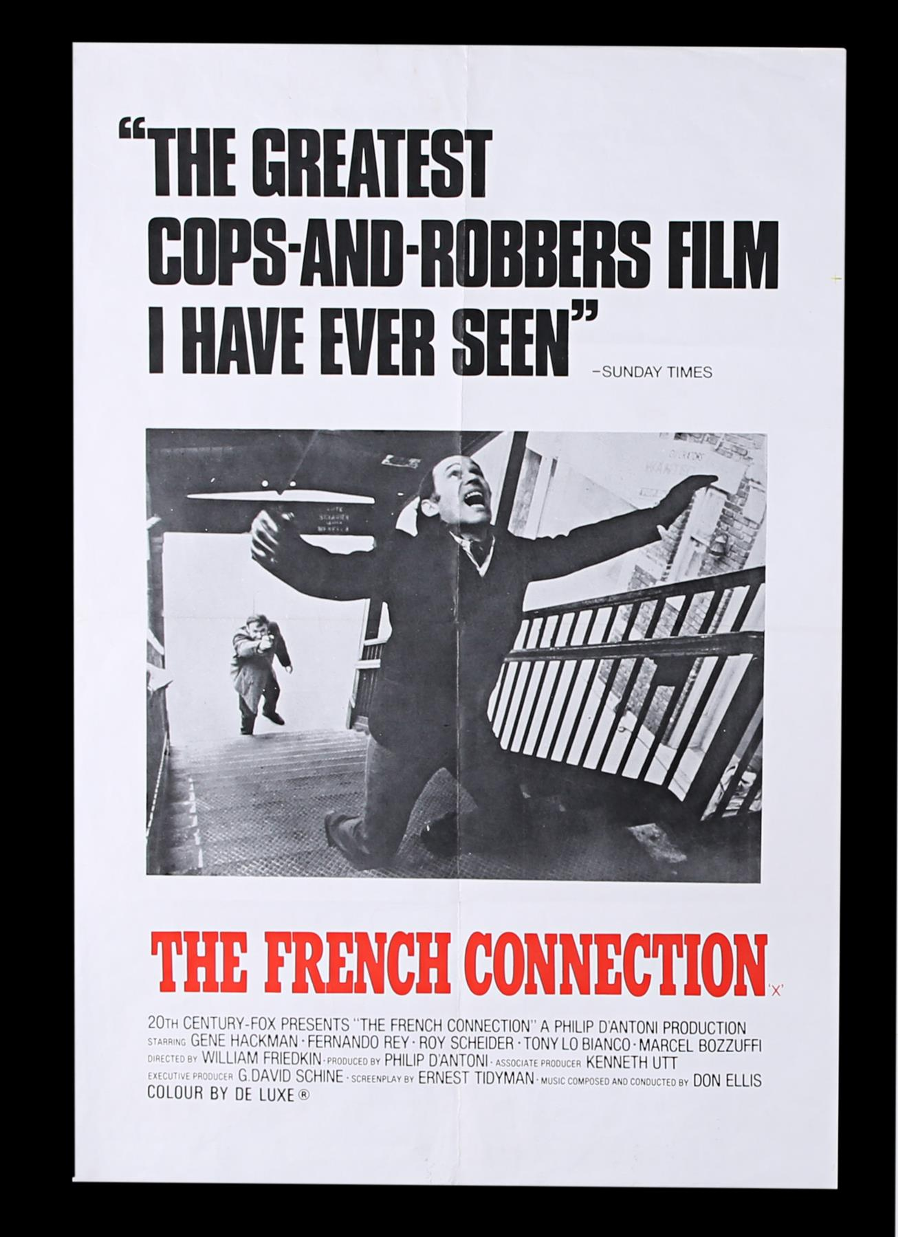 FRENCH CONNECTION (1971), CONVERSATION (1974) - UK Double Crown and US One-Sheet, 1971, 1974 - Image 6 of 8