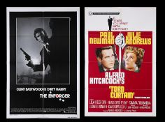 THE ENFORCER (1976), TORN CURTAIN (1966) - Two US One-Sheets, 1966, 1976